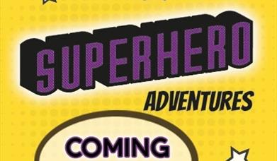 An image of the Superhero Adventures promotional poster.